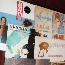Discos de vinilo: 3 MAXI, 4 LP. MECANO,MICHAEL JACKSON, SIMPLY RED,REVOLVER...VER IMAGENES. Lote 262652350