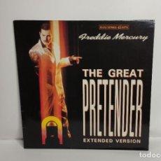 Discos de vinilo: FREDDIE MERCURY - THE GREAT PRETENDER MAXI ED. ESPAÑOLA. Lote 262653430