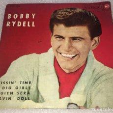 Discos de vinilo: EP BOBBY RYDELL - KISSIN' TIME Y OTROS TEMAS - RCA VICTOR CPEP2004 -PEDIDO MINIMO 7€. Lote 262654180