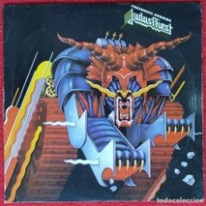 "Discos de vinilo: JUDAS PRIEST ‎- FREEWHEEL BURNING/BREAKING THE LAW 7"" 1983 RARA EDICION ESPAÑOLA. Lote 262670290"