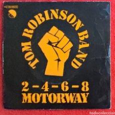 """Discos de vinilo: TOM ROBINSON BAND . 2-4-6-8 MOTORWAY 7"""" 1978 EDICION ESPAÑOLA - PUNK ROCK. Lote 262671040"""