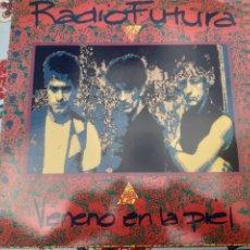 Discos de vinilo: LP DE RADIO FUTURA VENENO EN LA PIEL. Lote 262679190