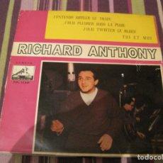 Discos de vinilo: EP RICHARD ANTHONY VSA 13847 SPAIN. Lote 262689460