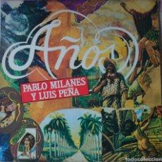 Discos de vinilo: PABLO MILANÉS Y LUIS PEÑA LP SELLO MOVIEPLAY EDITADO EN ESPAÑA AÑO 1983.... Lote 262690910