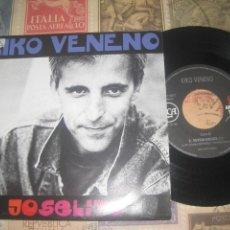 Discos de vinilo: KIKO VENENO - JOSELITO / SUPERHEROES DE BARRIO -( RCA 1992) OG ESPAÑA. Lote 262691105