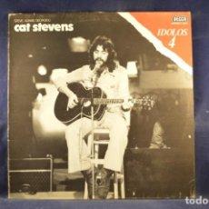 Discos de vinilo: CAT STEVENS - STEVE ADAMS GEORGIOU - CAT STEVENS - LP. Lote 262691890