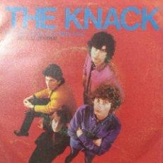Discos de vinilo: THE KNACK.** PAY THE DEVIL * LIL'S CALS BIG MISTAKE **. Lote 262693235