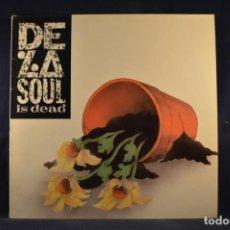 Discos de vinilo: DE LA SOUL - DE LA SOUL IS DEAD - LP. Lote 262693715
