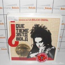 Dischi in vinile: LA BOLA DE CRISTAL 2 LPS DE VINILO EDI. LIMITADA ALASKA FANGORIA LOQUILLO HOMBRES G KIKO VENENO. Lote 262510620