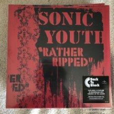 Discos de vinilo: SONIC YOUTH - RATHER RIPPED (2006) - LP REEDICIÓN GEFFEN 2016 NUEVO. Lote 262702290