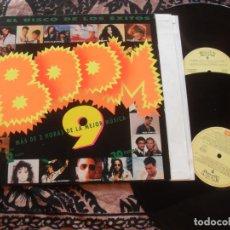 Discos de vinilo: BOOM 9 DOBLE LP 30 EXITOS. MADE IN SPAIN. 1993. Lote 262710445