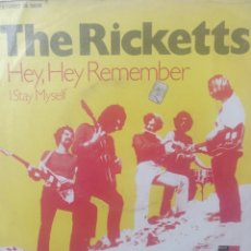 Discos de vinilo: THE RICKETTS.** HEY HEY REMEMBER * I STAY MYSELF **. Lote 262712190
