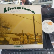 Discos de vinilo: LIMONES MAXI FERROL 1992. Lote 262712815