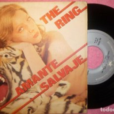"Discos de vinilo: 7"" THE RING - AMANTE SALVAJE = SAVAGE LOVER - VANGUARD ‎45-1956 - SPAIN PRESS (EX-/EX-). Lote 262717665"