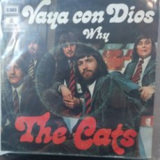 Discos de vinilo: THE CATS.** MAY GOD BE WITH YOU * WHY **. Lote 262719320