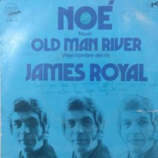 Discos de vinilo: JAMES ROYAL.** NOAH * OLD MAN RIVER **. Lote 262720500