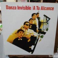 Dischi in vinile: DANZA INVISIBLE - A TU ALCANCE - LP. SELLO TWINS 1988. Lote 262721735