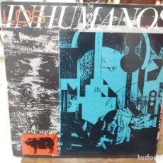 Discos de vinilo: LOS INHUMANOS - EL DISC JOCKEY PERDIÓ LA RAZÓN / ERES UNA FOCA / RAP ... - MAXI SINGLE EPIC 1984. Lote 262722785