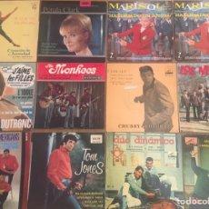 Discos de vinilo: FANTASTICO LOTE DE 108 PORTADAS ANTIGUAS, MUY BONITAS ( SIN DISCOS). Lote 262724445