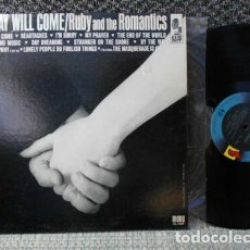 Discos de vinilo: RUBY AND THE ROMANTICS - OUR DAY WILL COME 1963, I'M SORRY, GREAT VOCAL R&B,RARE 1ª EDIC ORG USA EX. Lote 262726425