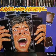 Discos de vinilo: LIVE AND HEAVY. Lote 262727175