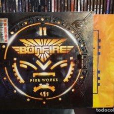 Discos de vinilo: BONFIRE - FIRE WORKS. Lote 262729595
