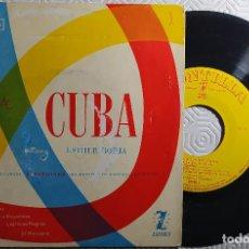 "Discos de vinilo: 7"" ESTHER BORJA / RAPSODIA DE CUBA - SIBONEY +3 - MONTILLA EPFM-1 - EP - SPAIN PRESS (VG+/VG++). Lote 262753205"