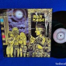 "Discos de vinilo: IRON MAIDEN - WOMEN IN UNIFORM - MAXI 12"" EMI 1980 - VINILO MUY BUEN ESTADO. Lote 262754230"