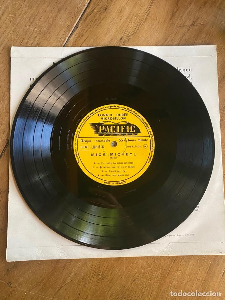 Discos de vinilo: Vinilo Lp 33 1/3 Mick Micheyl - nº1 Mes Chansons 1953 - Foto 3 - 262755105