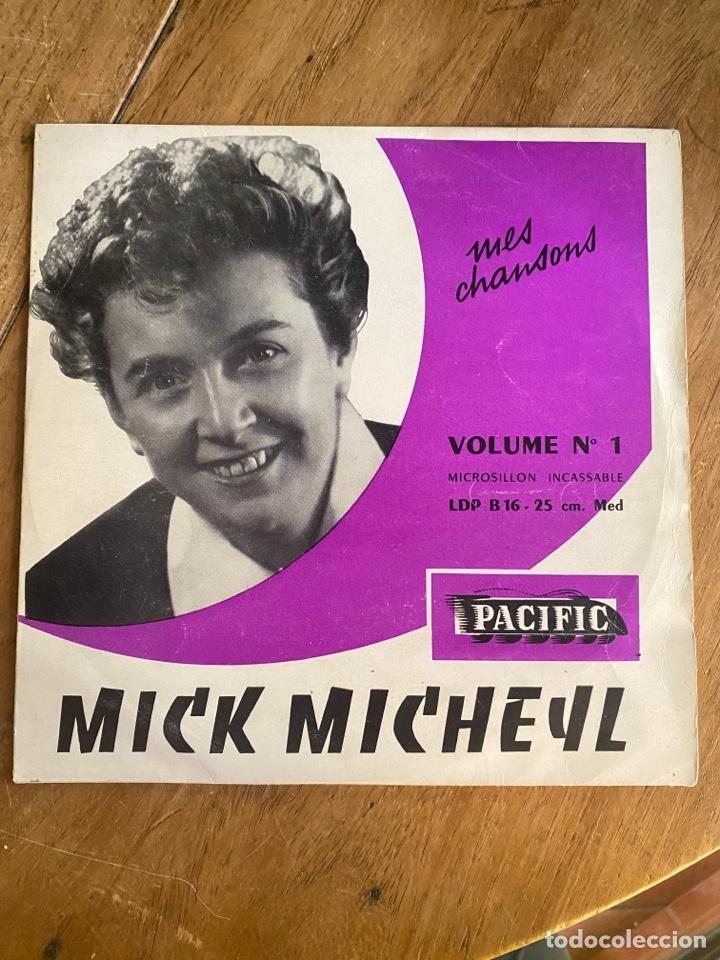 VINILO LP 33 1/3 MICK MICHEYL - Nº1 MES CHANSONS 1953 (Música - Discos - LP Vinilo - Canción Francesa e Italiana)