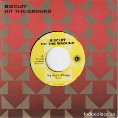 "Discos de vinilo: BISCUIT HIT THE GROUND (7"") . VINILO POWER POP ROCK AND ROLL HIGH ENER. Lote 262758050"