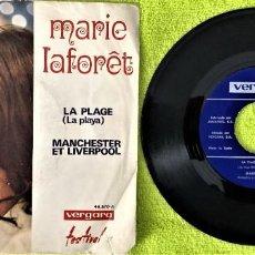 Discos de vinilo: MARIE LAFORÊT - LA PLAGE. Lote 262758490