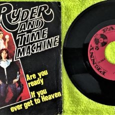Discos de vinilo: PAUL RYDER AND TIME MACHINE - ARE YOU READY. Lote 262760950