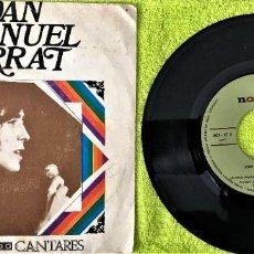 Discos de vinilo: JOAN MANUEL SERRAT - LA SAETA / CANTARES. Lote 262762065