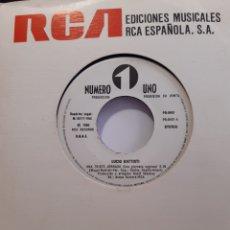 Discos de vinilo: LUCIO BATTISTI -UNA TRISTE JORNADA/LA CINTA ROSA. Lote 262762530
