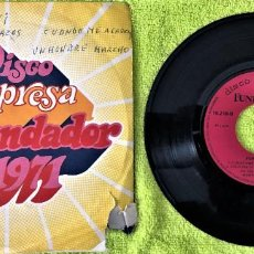 Discos de vinilo: FORMULA V - AYER Y HOY SELLO - DISCO SORPRESA FUNDADOR. Lote 262763195