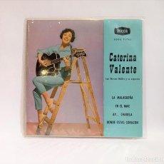 """Discos de vinilo: CATERINA VALENTE CON WERNER MULLER Y SU ORQUESTA - VINILO 7"""" 45 RPM. CCM1. Lote 262763655"""