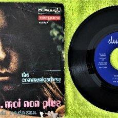 Discos de vinilo: THE COMMUNICATIVES - JE T'AIME... MOI NON PLUS. Lote 262764085
