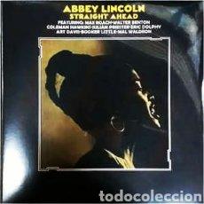 Discos de vinilo: ABBEY LINCOLN–STRAIGHT AHEAD . LP VINILO PRECINTADO.. Lote 262765165