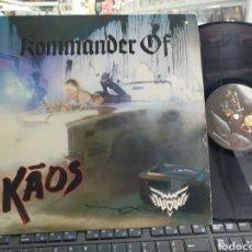 Discos de vinilo: WENDY O. WILLIAMS LP KOMMANDER OF KAOS ESPAÑA 1987. Lote 262768310