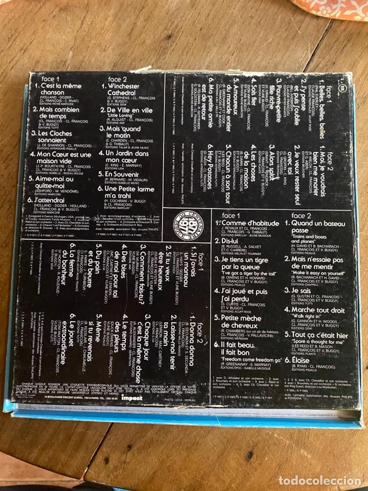 Discos de vinilo: Coffret 4 Disques Claude François- 6995 151 - Foto 2 - 262768650