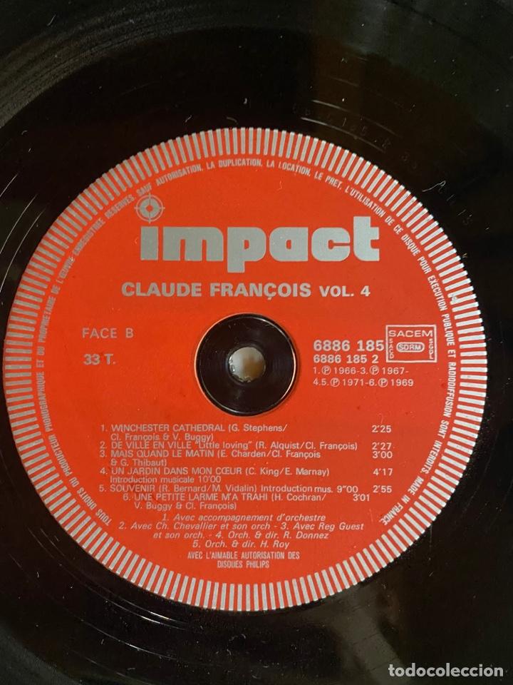 Discos de vinilo: Coffret 4 Disques Claude François- 6995 151 - Foto 11 - 262768650