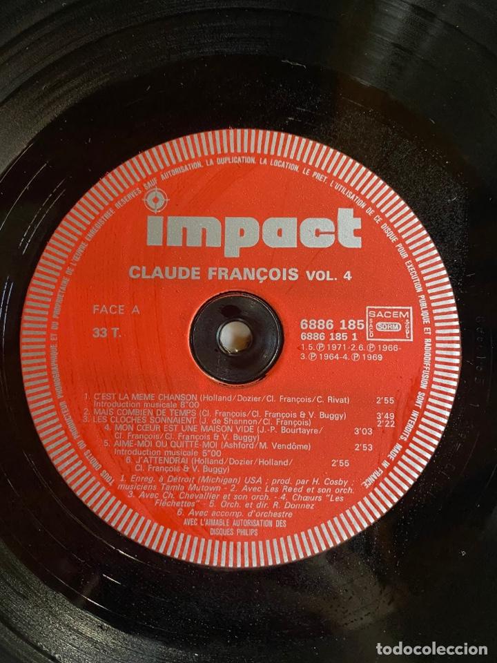 Discos de vinilo: Coffret 4 Disques Claude François- 6995 151 - Foto 14 - 262768650
