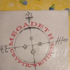 Discos de vinilo: MEGADETH - CRYPTIC WRITINGS LP. Lote 262773895
