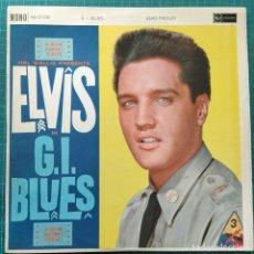 Disques de vinyle: ELVIS PRESLEY - G.I. BLUES (LP, ALBUM, MONO) (RCA) RD-27192 (1962/UK). Lote 262778570