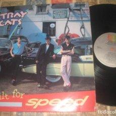 Discos de vinilo: STRAY CATS BUILT FOR SPEED BRIAN SETZER !! EMI AMERICA 1982 ORIGINAL USA. Lote 262780270
