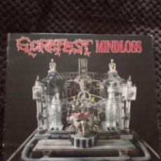 Discos de vinilo: GOREFEST - MINDLOSS LP. Lote 262782670