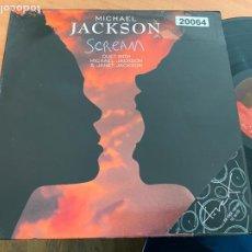 Discos de vinilo: MICHAEL JACKSON DUED JANET (SCREAM) MAXI ESPAÑA 1995 (B-28). Lote 262785250