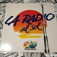 Discos de vinilo: VICKY LARRAZ-LA RADIO AL SOL-45RPM-MAXI. Lote 262785390