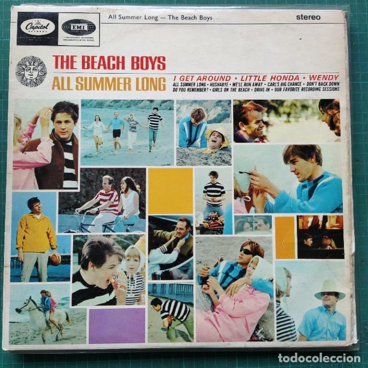THE BEACH BOYS - ALL SUMMER LONG (LP, ALBUM) (1965/UK) (Música - Discos - LP Vinilo - Pop - Rock Internacional de los 50 y 60)